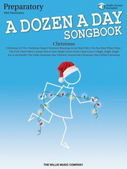 Dozen a Day Songbook Preparatory - Christmas w Audio DNLD