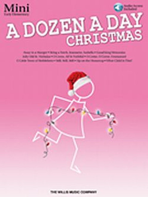Dozen a Day Songbook Mini - Christmas w Audio DNLD