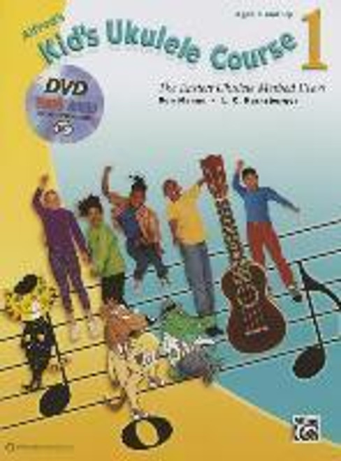 Alfred's Kid's Ukulele Course 1 (Book, CD + DVD)