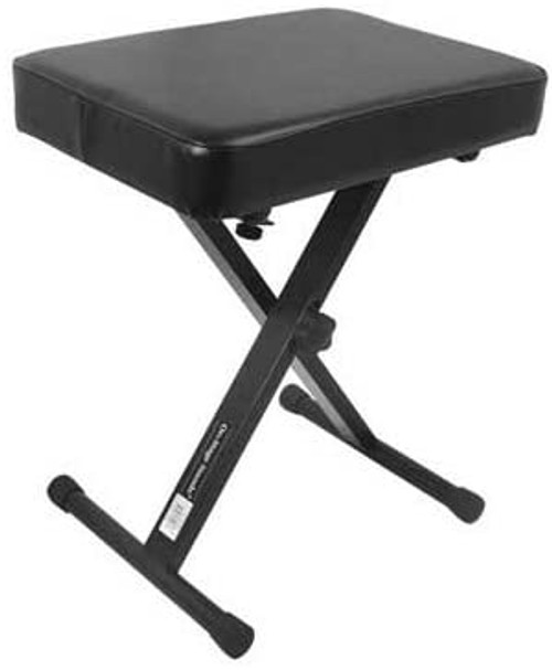 On-Stage 3-Position X-Style Keyboard Bench
