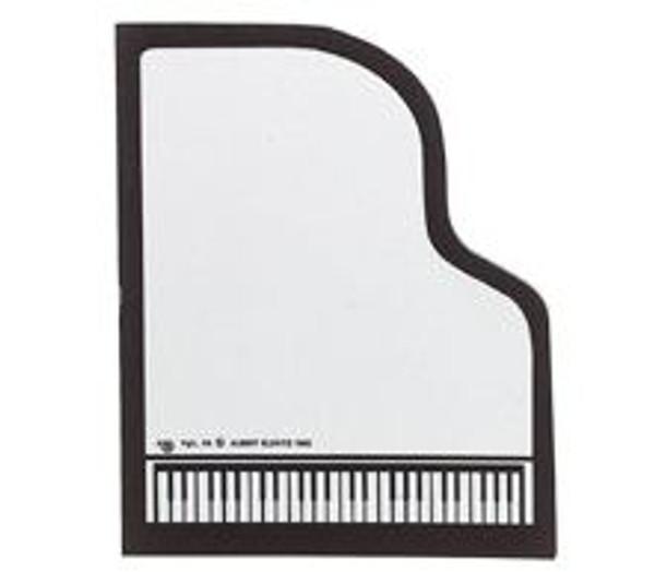 Sticky Pad Piano Shaped
