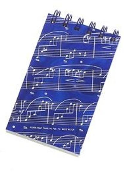 Notebook Hologram Sheetmusic