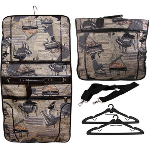 """Garment Bag Piano Tapestry 46"""""""