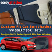 VW Polo Car Sun Shades from easyshades give great UV Protection with Window Shades and are more convenient than Privacy Glass. Styling Accessories are available from £29.95 inc Vat Order Online