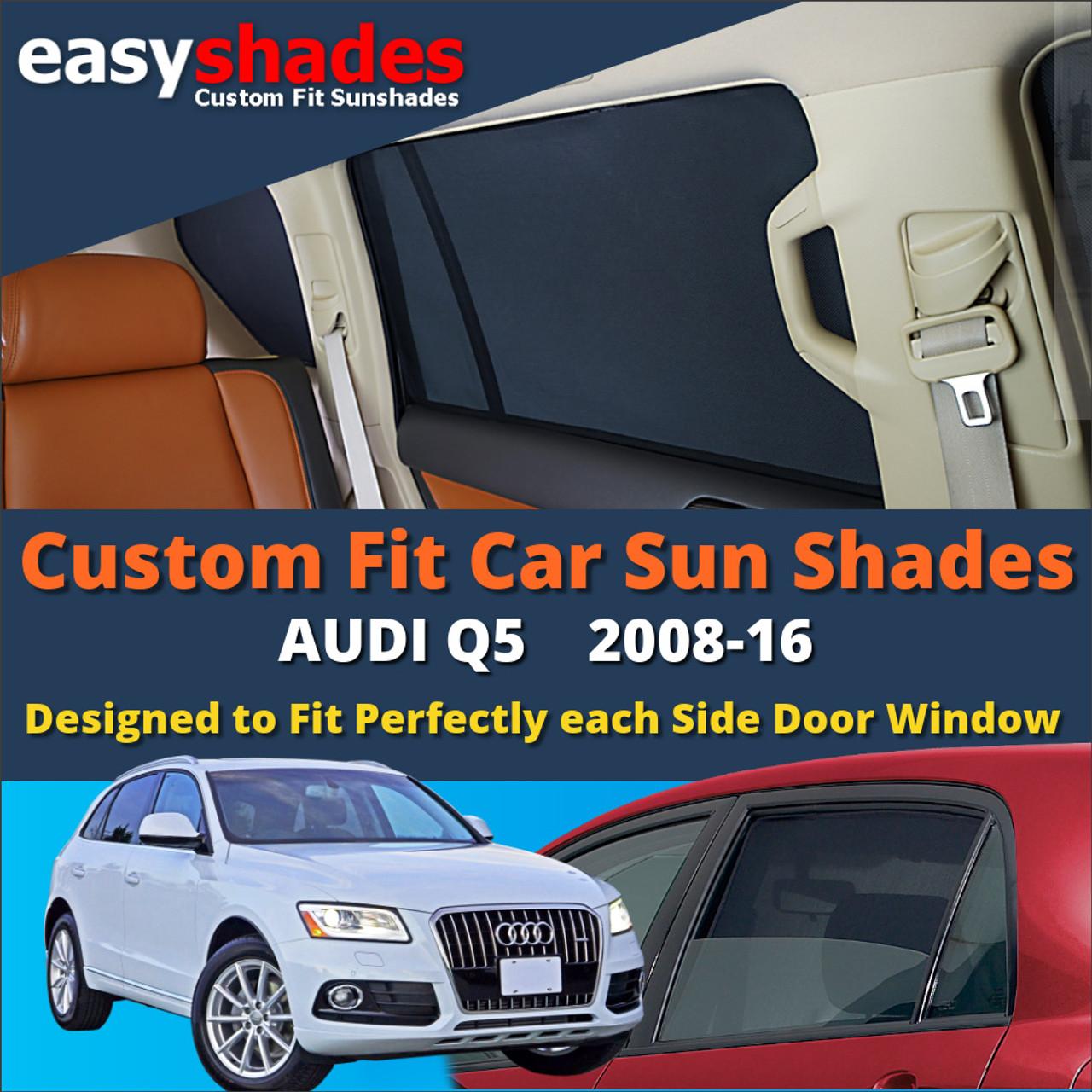 AUDI Q5 2017/> CAR SHADES UK TAILORED UV SIDE WINDOW SUN BLINDS