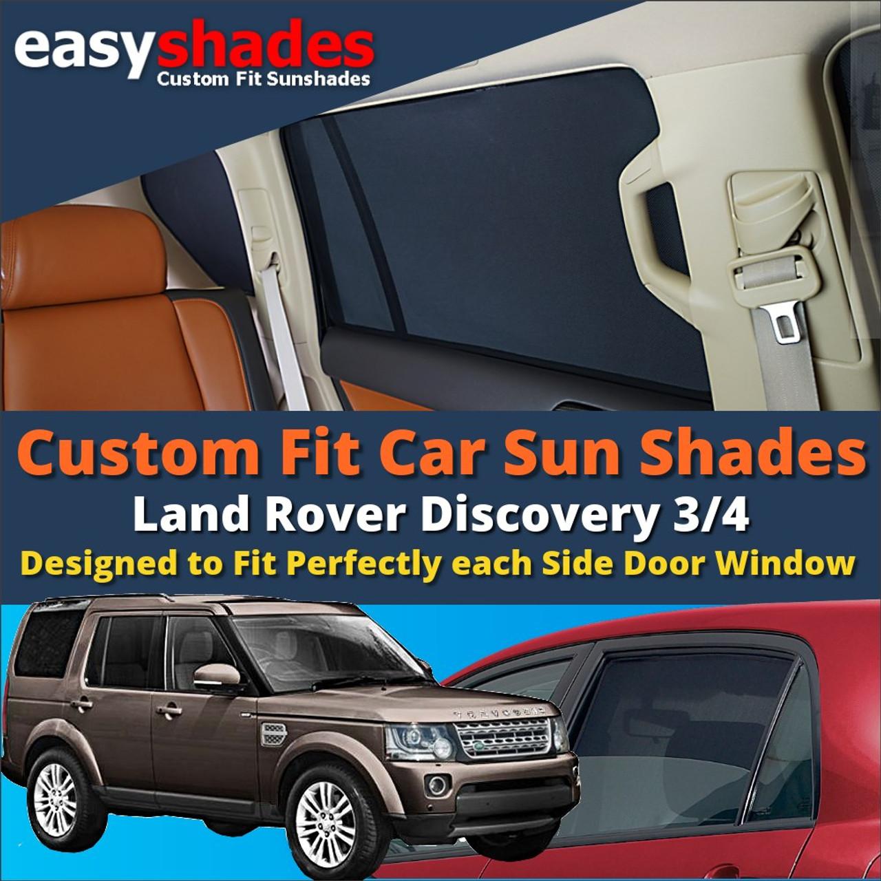 2 High Quality Black Car Window Sunshades UV Blinds Sun Shade Kids Child UK SALE