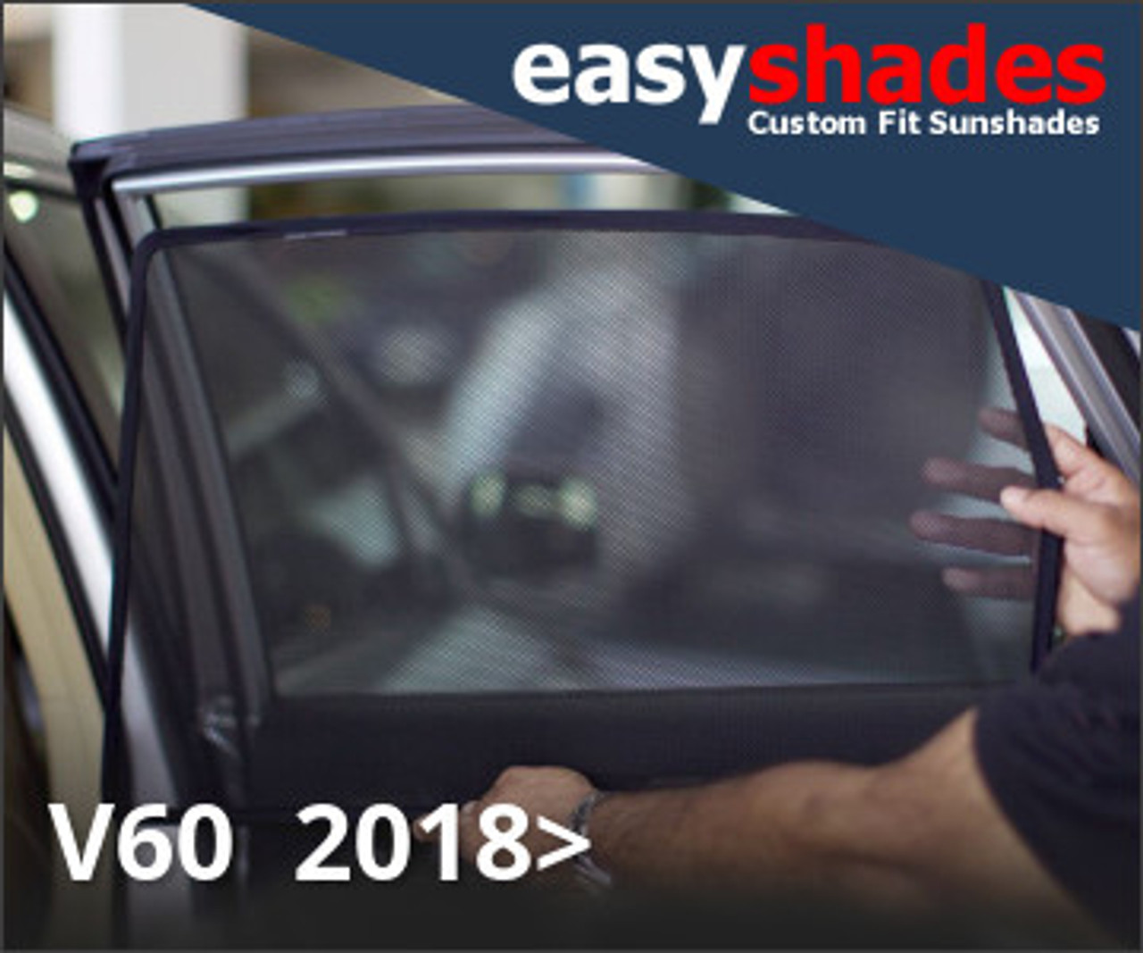 BMW X3 2010-18 CAR SUN SHADES WINDOW DOOR SHADES SET OF 2 B EASYSHADES UV TINT
