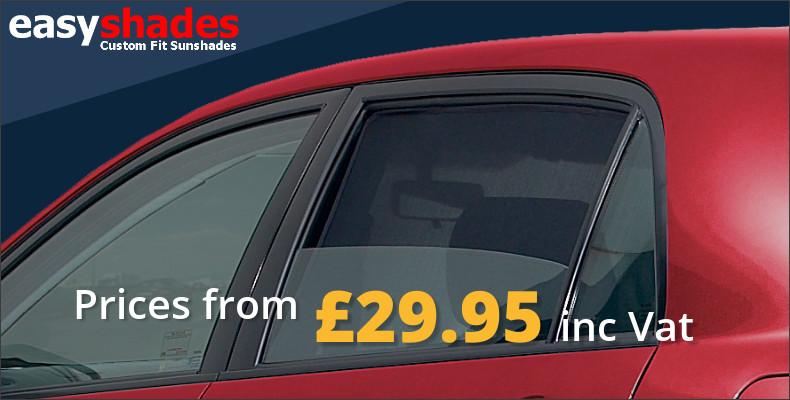 Custom Fit Privacy Car Window Shades by Easyshades
