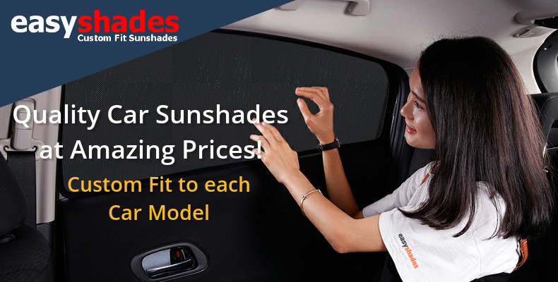 car sun shades by Easyshades - Custom Fit