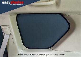 BMW X3 Car Sun Shades for Rear Load Area Side Windows