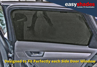 Audi A4 Avant Easy Shade Car Sun Shades provide customers with high quality vehicle privacy shades, screens blinds, door window shades for Kids, kiddy,baby  pet UV Protection for Hatchback, saloon or avant