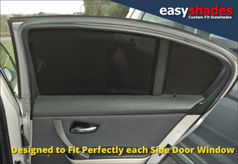 BMW 3 Series  E90 Car Sun Shades at Easy shades Window Blinds baby Kids