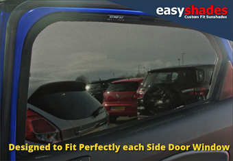 Ford Ecopsort car sun shades and window blinds from easyshades.co.uk