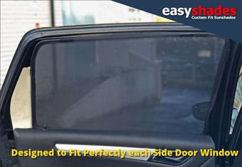 MERCEDES B CLASS 5DR 2005-11 CAR SUN SHADES (SET OF 2) B EASYSHADES