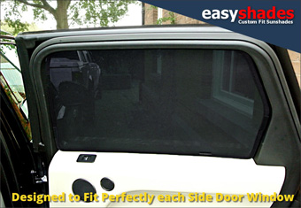 Range Rover Sport 2005-12 Easy Shade Car Sun Shades provide customers with high quality vehicle privacy shades, screens blinds, door window shades for Kids, kiddi, baby  pet UV Protection for rear passengers