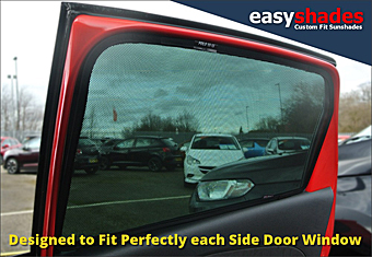 Easy Shade Car Sun Shades for VW Volkswagen Polo 2009-17 provide customers with high quality vehicle privacy shades, screens blinds, door window shades for Kids, kiddi, baby pet UV Protection for rear passengers