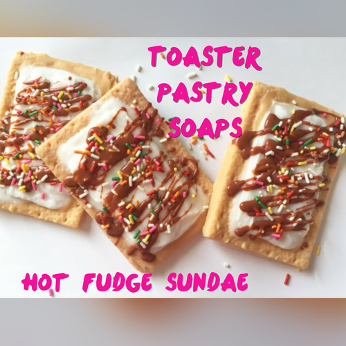 Toaster Pastry Soap - Hot Fudge Sundae