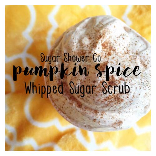 Pumpkin Spice Whipped Sugar Scrub