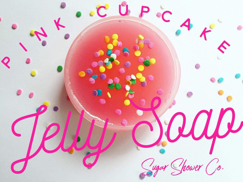 Pink Cupcake Jelly Soap