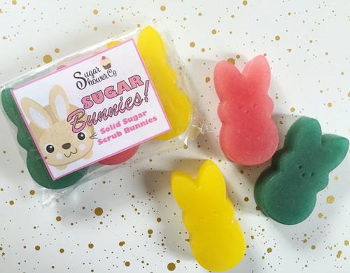 Sugar Bunnies Solid Sugar Scrub Bars