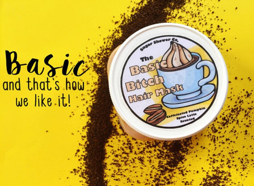 Basic Bitch Hair Mask - Made With Real Coffee!