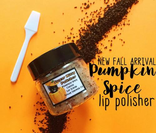 Halloween Sugar Kitty Lip Polisher - Pumpkin Spice Coffee Flavored