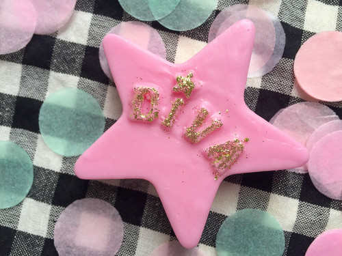 Pink & Gold Diva Star Soap