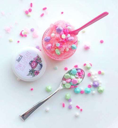 Pink Cupcake Sugar Lip Scrub