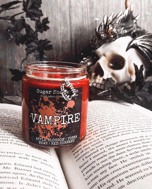 Vampire Candle - Apple Blossom | Tonka Bean | Red Currant