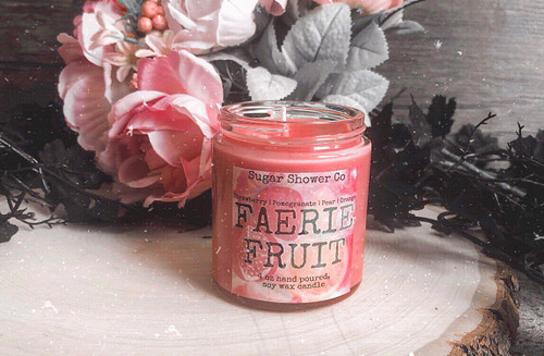 Faerie Fruit Candle - Strawberry | Pomegranate | Pear | Orange