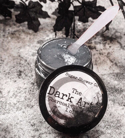 The Dark Arts Charcoal Clay Face Mask