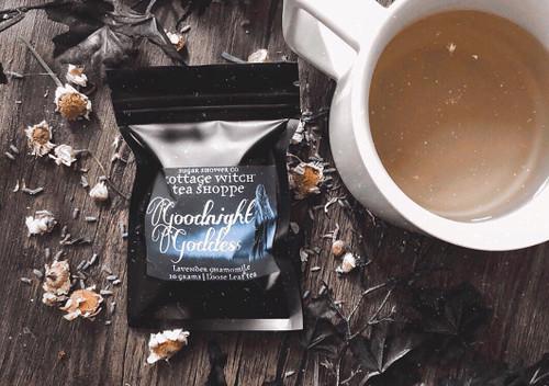Goodnight Goddess Lavender Chamomile Tea - 10 Grams Loose Leaf Tea