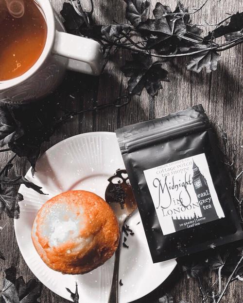 Midnight in London Earl Grey Tea - 10 Grams Loose Leaf Tea