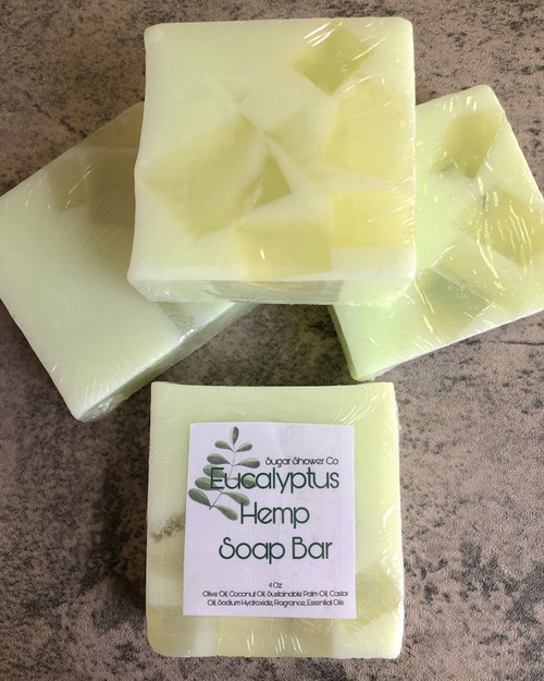 Eucalyptus Hemp Soap Bar