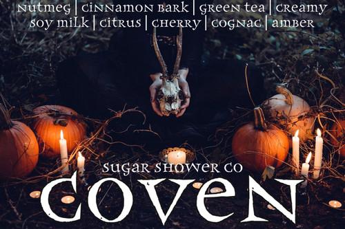 Coven - Nutmeg | Cinnamon Bark | Green Tea | Creamy Soy Milk | Citrus | Cherry | Cognac | Amber