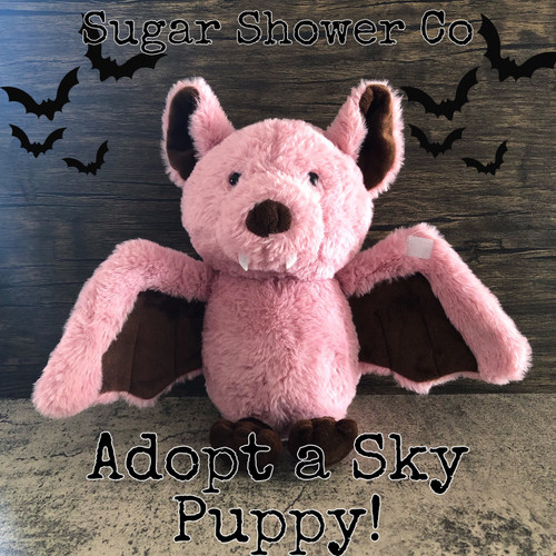 Adopt a Sky Puppy - Adorable Vampire Bat Plush + Goodie Bag!