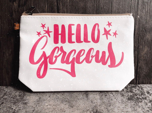 50% OFF! Hello Gorgeous Cosmetic Bag