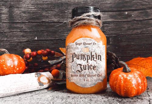 Pumpkin Juice Bubble Bath/Shower Gel