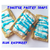 Toaster Pastry Soap - Blue Raspberry