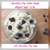 Chocolate Chip Cookie Dough Whipped Sugar Scrub - With Soap Chocolate Chips