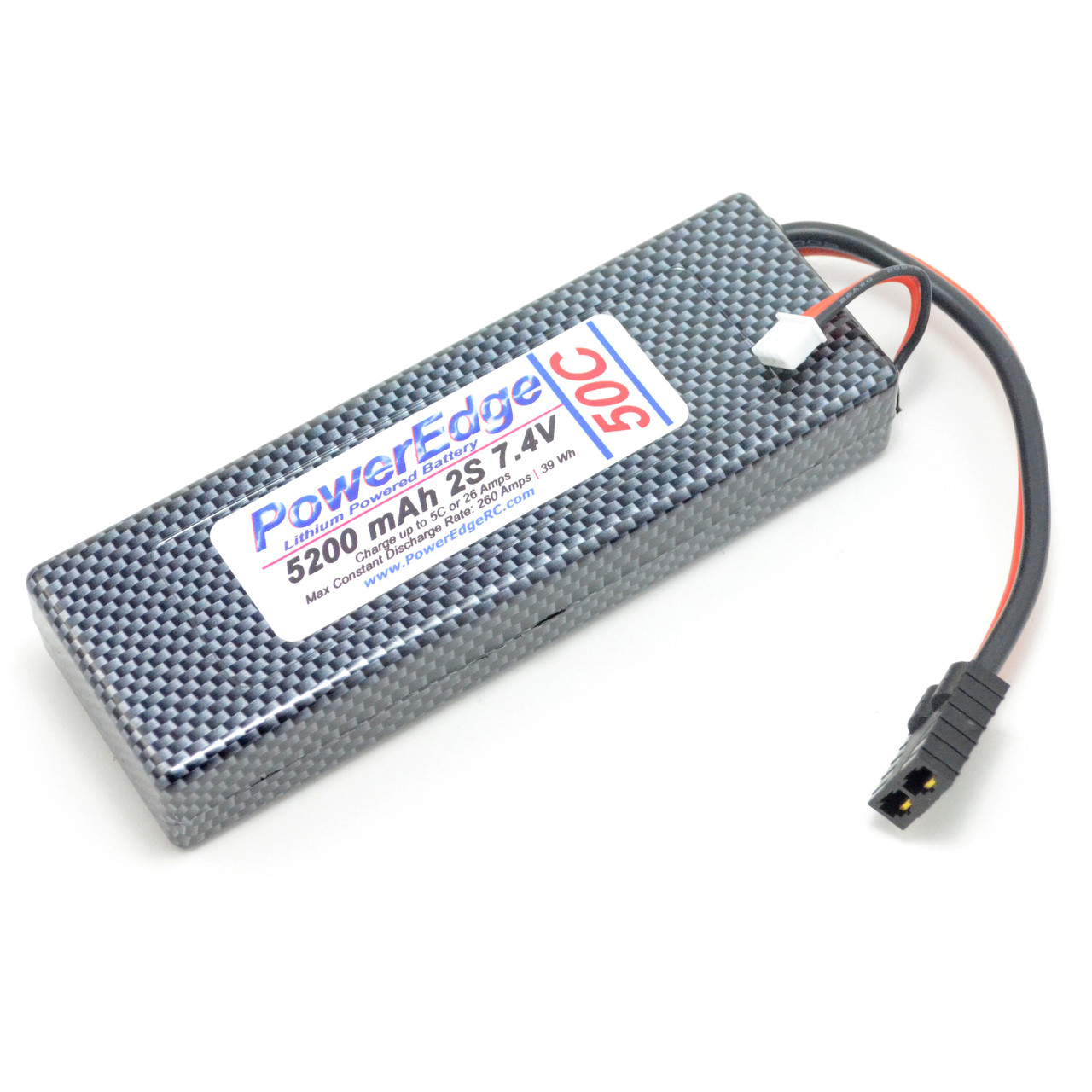 Fabulous Poweredge Lithium Battery 5200 2S 7 4V 50C Lipo Battery Rc Accessory Wiring 101 Akebretraxxcnl