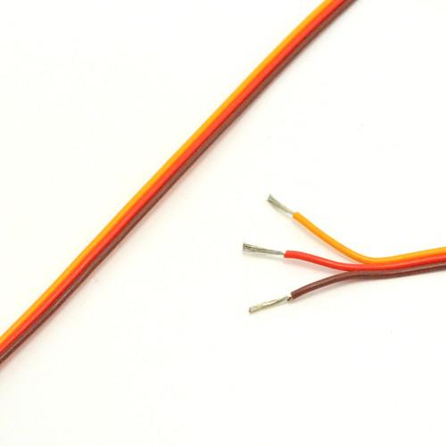 JR / Spektrum HD 22 AWG Servo Wire 100 Foot spool