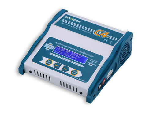 EV-Peak C4 80 Watt Balance Charger