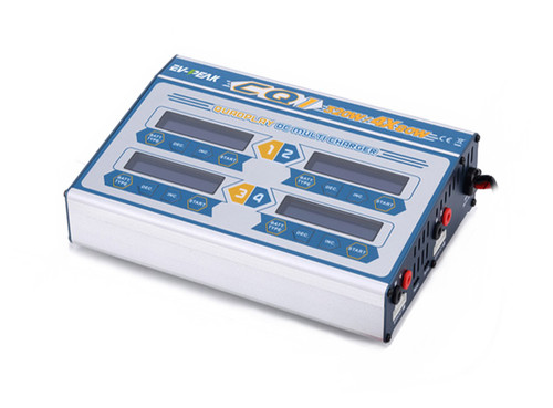 EV-Peak CQ1 4 port x 80 watt DC Balancing Charger