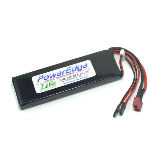 PowerEdge 3000 2S LiFe Battery 6.6V 20C RX battery