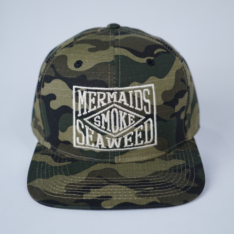 Smokin Mermaid Hat Embroidered