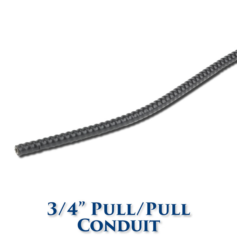 "3/4"" Pull/Pull Conduit for 3/16"" and 1/4"" Wire Rope"