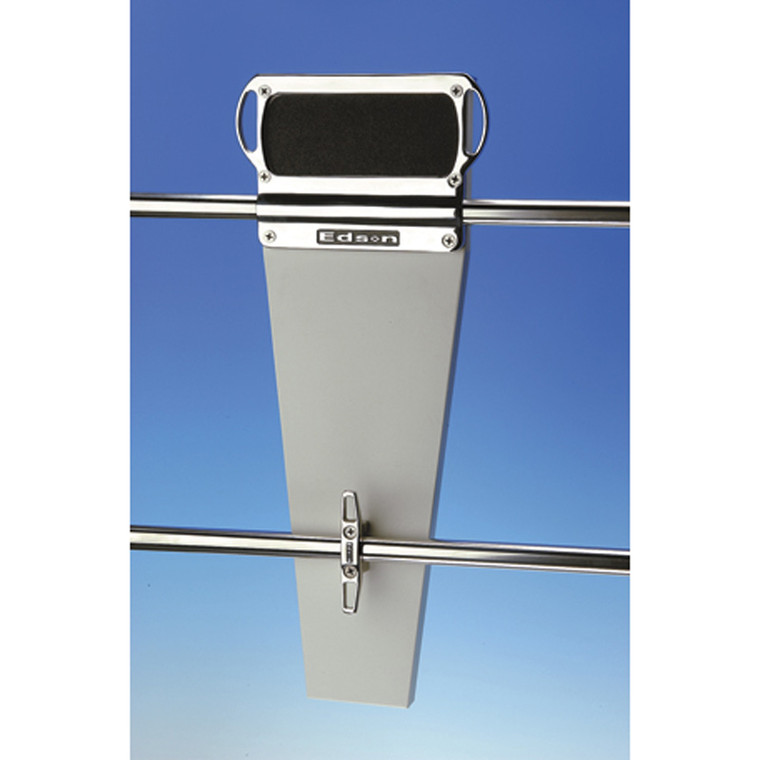 """Stern Rail Outboard Motor Mount - Stainless Steel for 1"""" Railings"""