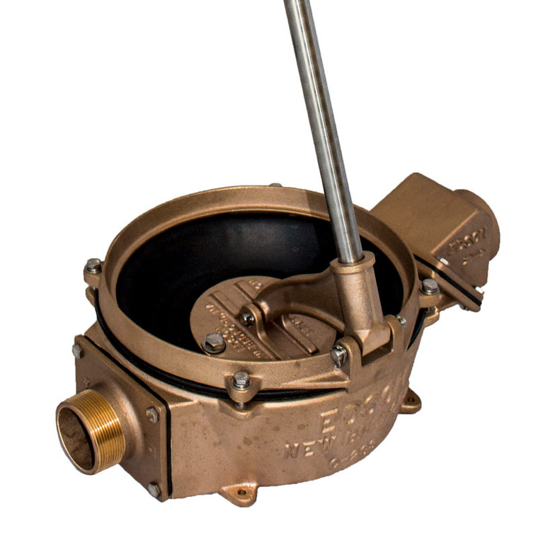 "Bronze Manual Side Inlet Lever Action Pump (1.5"" Intake/Discharge) (117BR-150)"