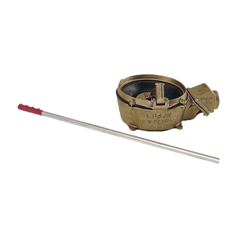 "Bronze Manual Bottom Inlet Lever Action Pump (1.5"" Intake/Discharge) (638BR-150)"